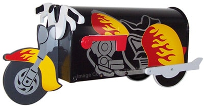 Motorcycle Novelty Mailbox Product Image