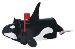 Orca Whale Novelty Mailbox Product Image