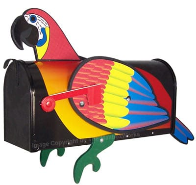 Parrot Novelty Mailbox Product Image
