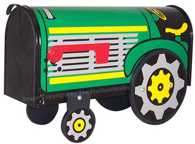 Tractor Novelty Mailbox Product Image