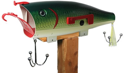 Baby Bass Lure Novelty Mailbox Product Image