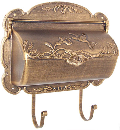 Hummingbird Wall Mount Mailbox Product Image