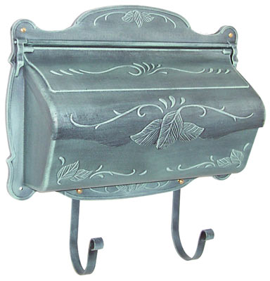 Floral Wall Mount Mailbox Product Image