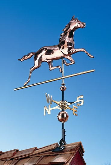 Whitehall Copper Horse Classic Weathervane Product Image