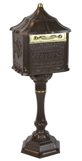 Amco Colonial Pedestal Locking Mailbox Product Image