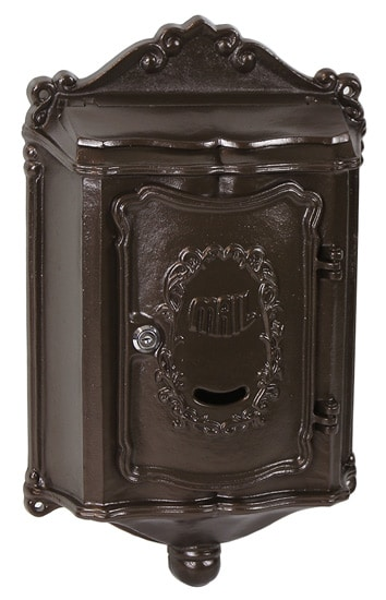Colonial Locking Wall Mount Mailbox Product Image