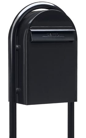 Bobi Classic Rear Access Mailbox with Round Post Product Image