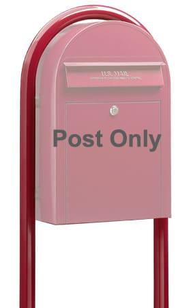 Bobi Round Mailbox Post