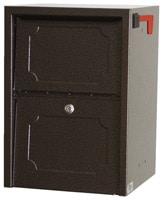 dVault Junior Delivery Vault Mailboxes Copper