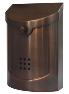 Ecco 5 Wall Mount Residential Mailbox Product Image