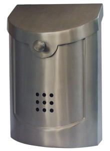 Ecco 5 Mailbox Satin Nickel