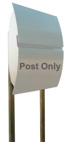 European Home Mailbox Post