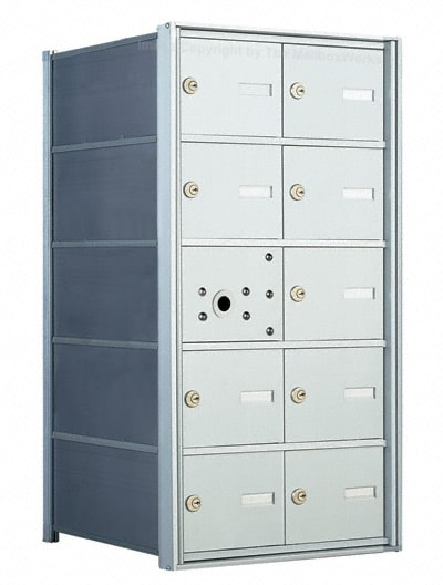 Florence 1400 4B Mailbox – USPS Distribution, 10 Doors Product Image