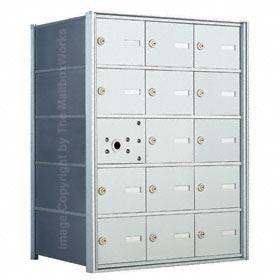 Florence 140053 Horizontal Mailbox Anodized Aluminum