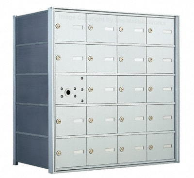 Florence 1400 4B Mailbox – USPS Distribution, 20 Doors Product Image