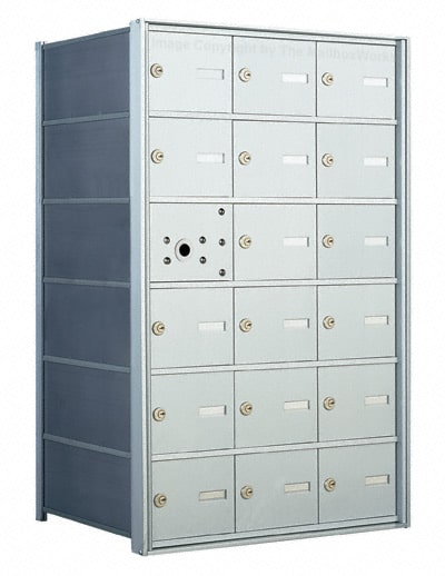 Florence 1400 4B Mailbox – USPS Distribution, 18 Doors Product Image