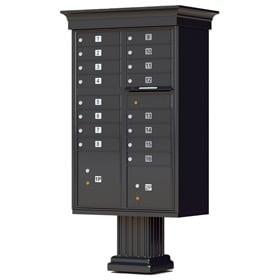 Florence 16 Door Classic CBU Black