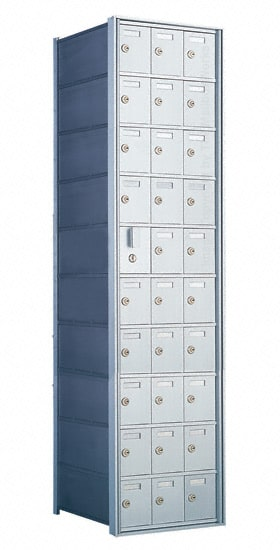 Florence Private Distribution Mailboxes 4B+ Horizontal 1600 Series 30 Door (29 Useable) 10 High Product Image