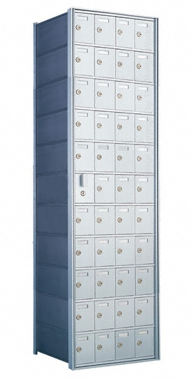 Florence Private Distribution Mailboxes 4B+ Horizontal 1600 Series 44 Door (43 Useable) 11 High Product Image