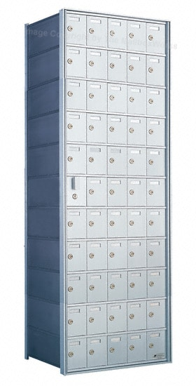 Florence Private Distribution Mailboxes 4B+ Horizontal 1600 Series 55 Door (54 Useable) 11 High Product Image