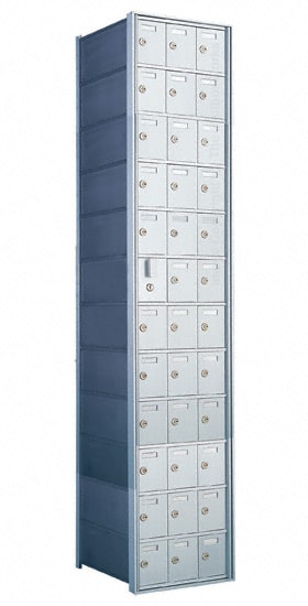 Florence Private Distribution Mailboxes 4B+ Horizontal 1600 Series 36 Door (35 Useable) 12 High Product Image