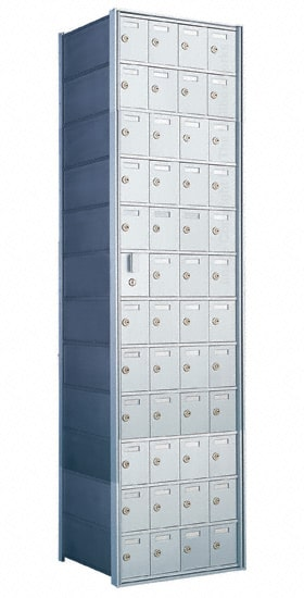 Florence Private Distribution Mailboxes 4B+ Horizontal 1600 Series 48 Door (47 Useable) 12 High Product Image