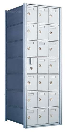 Florence 1600 4B Mailbox – Private Distribution, 21 Doors Product Image