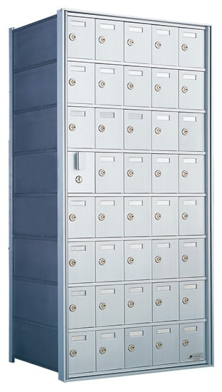 Florence Private Distribution Mailboxes 4B+ Horizontal 1600 Series 40 Door (39 Useable) 8 High Product Image