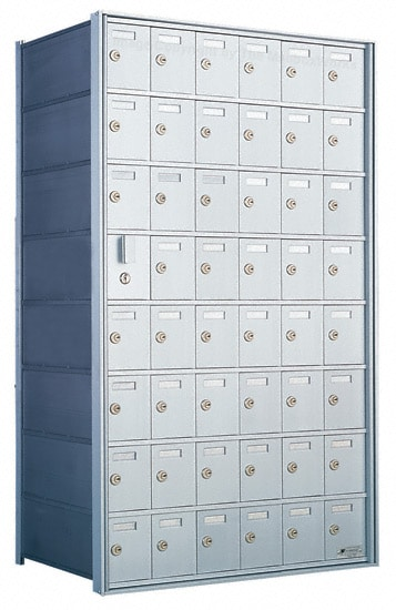 Florence 1600 4B Mailbox – Private Distribution, 48 Doors Product Image