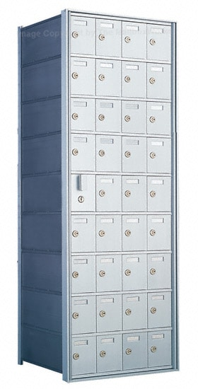 Florence Private Distribution Mailboxes 4B+ Horizontal 1600 Series 36 Door (35 Useable) 9 High Product Image