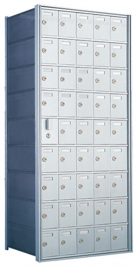 Florence Private Distribution Mailboxes 4B+ Horizontal 1600 Series 45 Door (44 Useable) 9 High Product Image