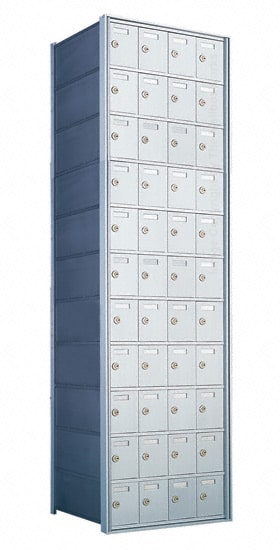 Florence Private Distribution Mailboxes 4B+ Horizontal 1700 Series 44 Door 11 High Product Image