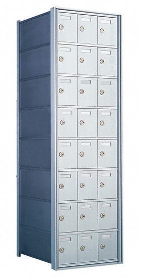 Florence Private Distribution Mailboxes 4B+ Horizontal 1700 Series 24 Door 8 High Product Image