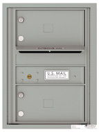 Florence 4C Mailboxes 4C06S-02 Silver Speck