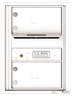 Florence 4C Mailboxes 4C06S-02 White