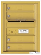 Florence 4C Mailboxes 4C06S-04 Gold Speck