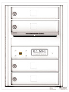 Florence 4C Mailboxes 4C06S-04 White