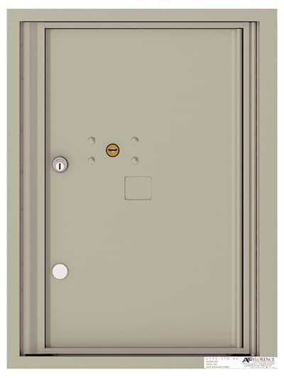 4C06S-1P Front Loading Private Use Commercial 4C Parcel Lockers – 1 Parcel Locker Product Image