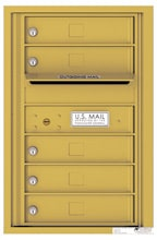 Florence 4C Mailboxes 4C07S-05 Gold Speck