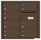 Florence 4C Mailboxes 4C08D-07 Antique Bronze