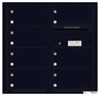 Florence 4C Mailboxes 4C08D-07 Black