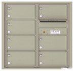 Florence 4C Mailboxes 4C08D-07 Postal Grey