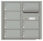 Florence 4C Mailboxes 4C08D-07 Silver Speck