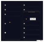 Florence 4C Mailboxes 4C08D-09 Black