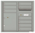 Florence 4C Mailboxes 4C08D-09 Silver Speck
