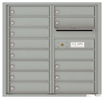 Florence 4C Mailboxes 4C08D-13 Silver Speck