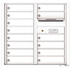 Florence 4C Mailboxes 4C08D-14 White