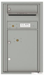 Florence 4C Mailboxes 4C08S-01 Silver Speck