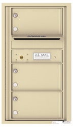 Florence 4C Mailboxes 4C08S-03 Sandstone