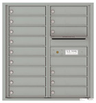 Florence 4C Mailboxes 4C09D-15 Silver Speck